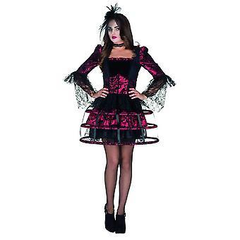 Vavau drakt kjole damer Carnival vandøde Halloween Vampire