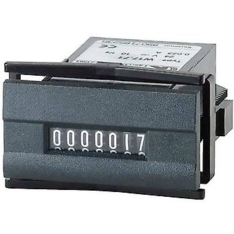 Kübler W 17.50 24 V/DC Pulse counter type W 17.50 7-digit Assembly dimensions 45 x 22.2 mm