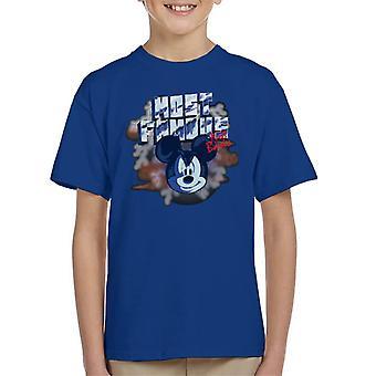 Disney Mickey Mouse Band beroemdste niet fundamentele Kid's T-Shirt