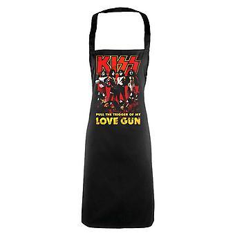 Kuss - Love Gun Schürze