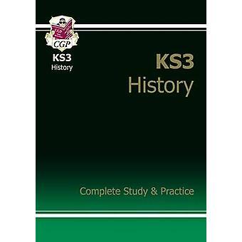 KS3 Estudio completo de la historia y la práctica (con edición en línea) por CGP