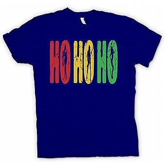 Kids T-shirt - Ho Ho Ho - Funny But Crude Santa