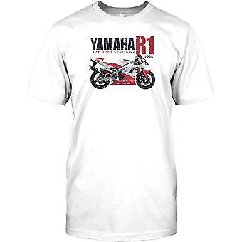 Yamaha R1-YZF 1000-Superbike Miesten T-paita