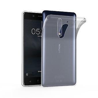 Custodia Cadorabo per Nokia 5 Custodia Cover - Custodia per telefoni cellulari in silicone TPU flessibile - Custodia protettiva in silicone Ultra Slim Soft Back Cover Bumper