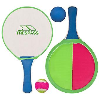 Trespass Prodigy Paddle Bat And Ball Set