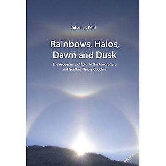 Rainbows, Halos, Dawn and Dusk: The Appearance of Color in the Atmosphere and Goethe's Theory of Colors