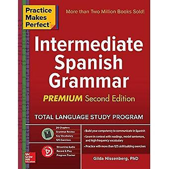 Övning ger färdighet: Medelsvår spanska grammatik, Premium andra upplagan
