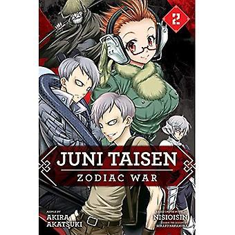 Juni Taisen: Zodiac krig (Manga), Vol. 2