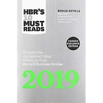 Hbr's 10 Must Reads 2019 (Hudson Exclusive)