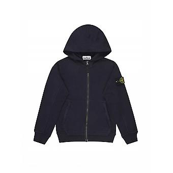 Stone Island Junior Navy Blue Hoody