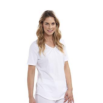 Haut de Pyjama coton Casual Smart Rosch 1884159 féminin