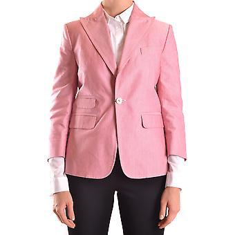 Dsquared2 Ezbc008095 Dames's Pink Cotton Blazer