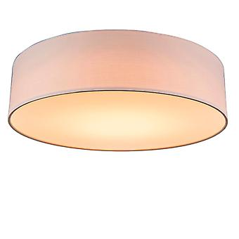 QAZQA roze plafond lamp 40 cm incl. LED-Drum LED