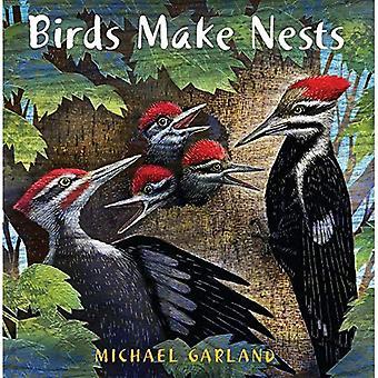 Gli uccelli fanno nidi