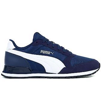 Puma ST Runner V2 Mesh JR 36713501 universel toute l'année chaussures pour enfants