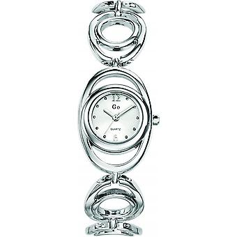 Go Girl Only 693694 - watch steel e silver white woman