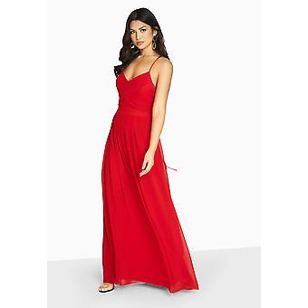 Girls On Film Womens/Ladies Endlessly Chiffon Maxi Dress