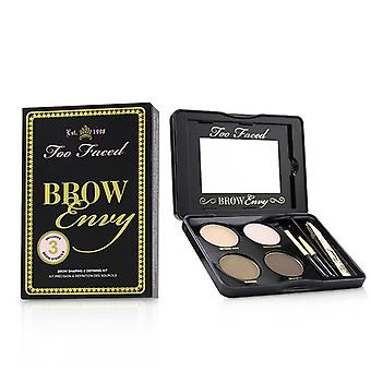 Brow Envy Shaping & Defining Kit : (1x Setting Wax 1x Highlighter 2x Brow Powders 1x Tweezer 1x Angled Brush 1x Spoo