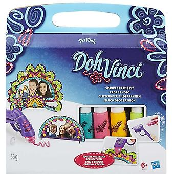 Play-Doh DohVinci Sparkle Frame Kit