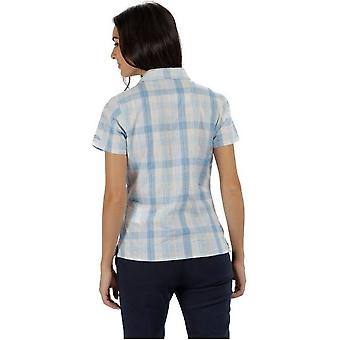 Regatta Womens/Ladies Jenna II Checked Short Sleeved Shirt