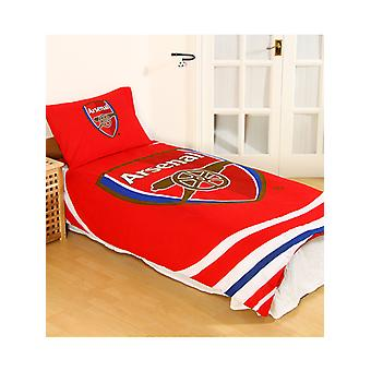 Arsenal FC Pulse Duvet Cover and Pillowcase Set