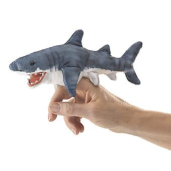 Finger Pupper -  Folkmanis - Mini Shark New Toys Soft Doll Plush 2777