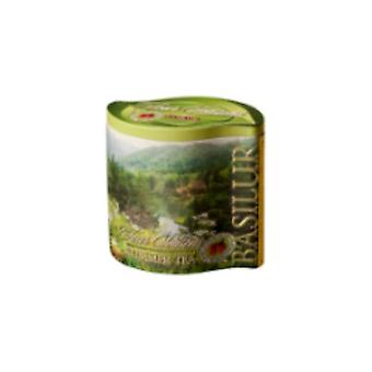 Sencha Green Tea With Wild Strawberry In Tin Caddy X100g