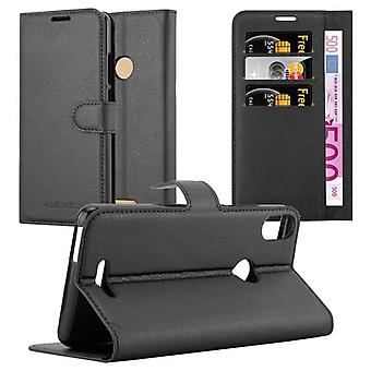 Cadorabo Case for WIKO VIEW MAX Case Cover - Phone Case with Magnetic Closure, Stand Function and Card Compartment - Case Cover Case Case Case Case Case Book Folding Style