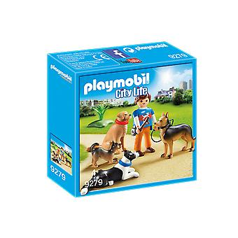 Playmobil 9279 City Life Dog Trainer Playset