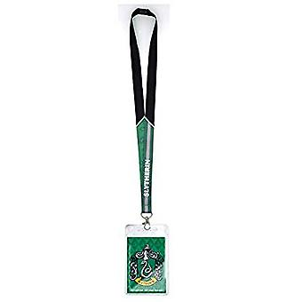 Lanyard - Harry Potter - Slytherin Crest w / Card Holder New 48474
