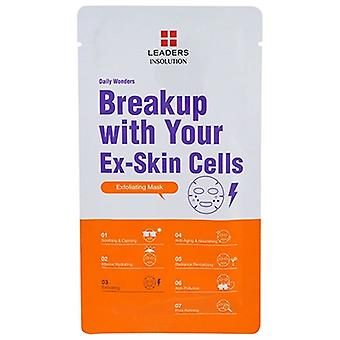 Leaders Insolution Daily Wonders Breakup With Your Ex-Skin Cells Exfoliant Mask 1 Feuille