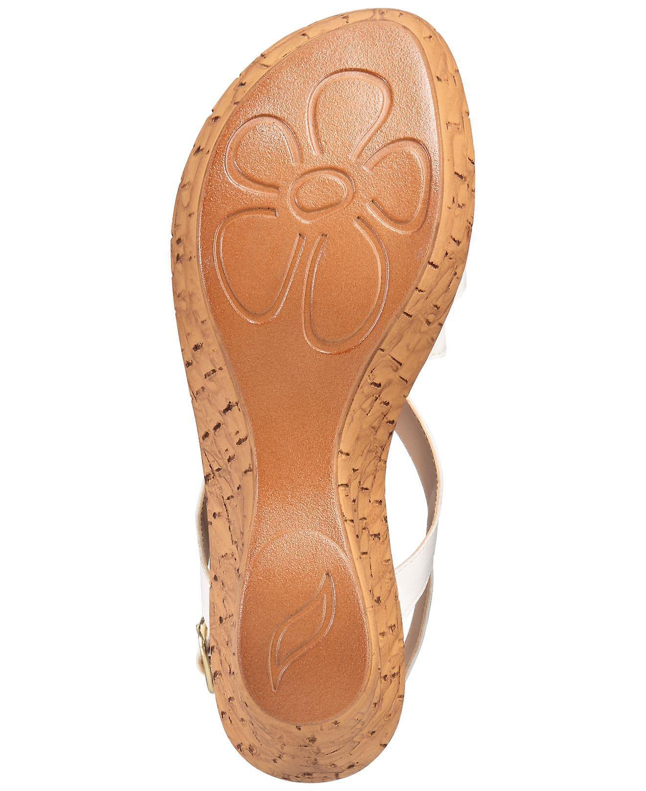 Callisto Womens Pomfret Open Toe Casual Platform Sandals