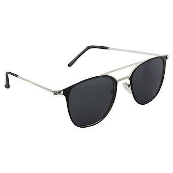 Sunglasses UV 400 Aviator Silver ZwartHL195_2