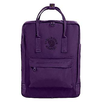 FJALLRAVEN Re-K nken - Unisex Backpack - Adult - Purple (Deep Violet) - One Size (38 x 27 x 13 cm)