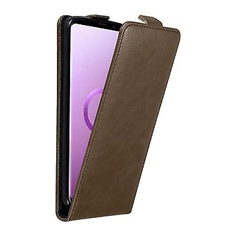 Cadorabo Case for Samsung Galaxy S9 PLUS Case Cover - Phone Case in Flip Design with Magnetic Closure - Case Cover Case Case Case Book Folding Style