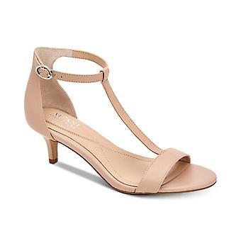 Alfani Womens Chiarra Cuir Open Toe Formal T-Strap Sandales