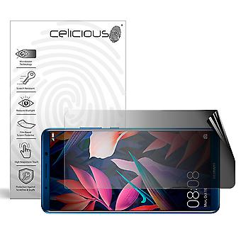 Celicious Privacy 2-Way Landscape Anti-Spy Filter Screen Protector Film Compatible with Huawei Mate 10 Pro