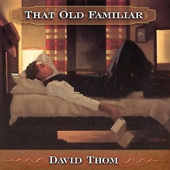 David Thom - That Old Familiar [CD] USA import