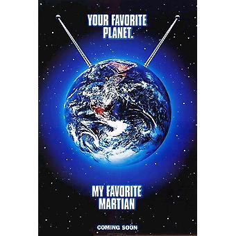My Favorite Martian (1999) Original Cinema Poster