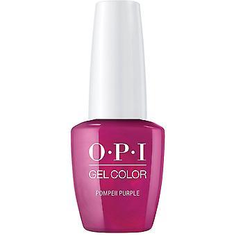 OPI GelColor Gel Color - Soak Off Gel Polish - Pompeii Purple 15ml (GC C09)