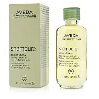 Composição de Aveda Shampure calmante óleo aromático - 50ml/1.7 oz