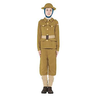 Chłopcy straszne historie i wojny światowej chłopiec Fancy Dress kostium