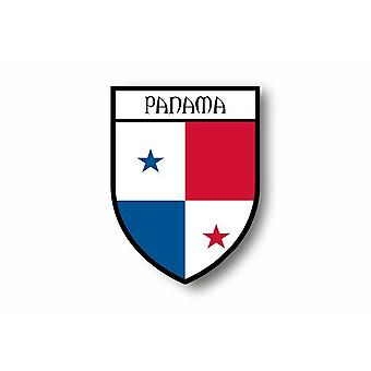 Autocollant Sticker Voiture Moto Blason Ville Drapeau Panama