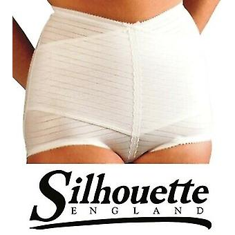 Silhouette Lingerie 'Gorsetry Collection' Firm Hold Cross Hatch Support Girdle