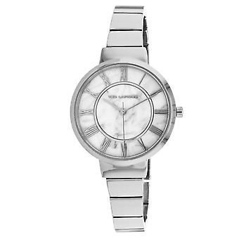 Ted Lapidus Women's Classic Marble white Dial Watch - A0714IARX