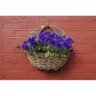 Nagykövet rattan Wall Basket