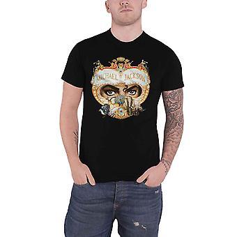 Michael Jackson T Shirt Dangerous Logo new Official Mens Black