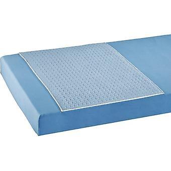 careline wasbare incontinentie bed onderlegger - matrasbeschermer 2 liter - met instopstrook