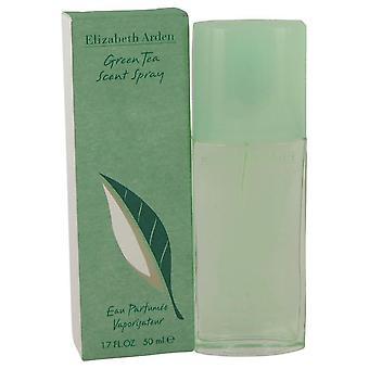 الشاي الأخضر Eau Parfumee رائحة رذاذ إليزابيث أردن 413717 50 مل