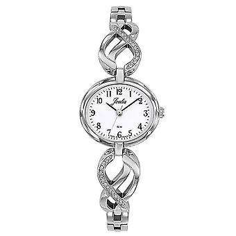 Sjekk Certus 633385-JOALIA bo tier stål sølv form oval Dial hvite kvinner